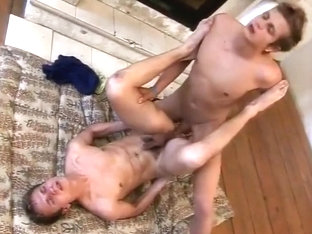 Missionary anal with twink boys