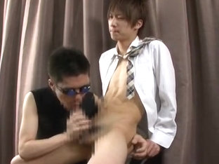Fabulous Asian homosexual guys in Best masturbation, blowjob JAV video