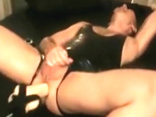 Fucking Machine and Dildos on the ****Sheets Part 4
