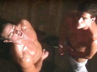 Jeff Stryker says look at my big cock(clip)
