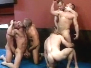 Lockerroom orgy