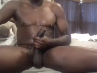 Sweet homosexual is beating off at home and shooting himself on web camera