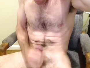 Seductive guy is having a good time in his room and memorializing himself on webcam