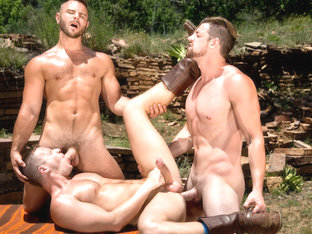 Brian Bonds & Nick Sterling & Andrew Stark in Total Exposure 2 Video