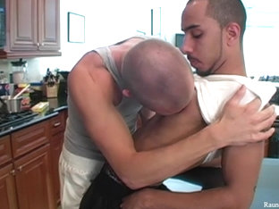RaunchyTwinks Video: Duston and Rio's makeout session