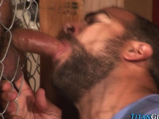 Mature fucked bear jizzes