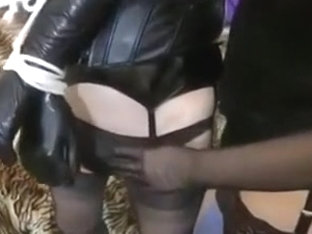 Sissy CD Teased and Banged by Dirty Mistress