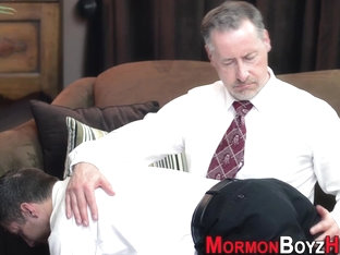 Bishop strokes mormon guy