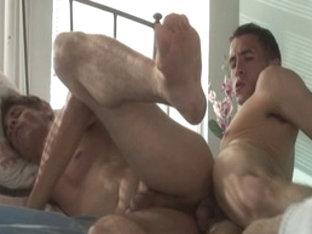 Crazy male pornstar Mark Galfione in fabulous blowjob, dilettante gay sex movie