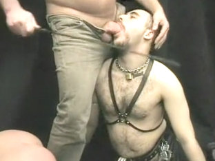 Submissive Guy Gets Humiliated In Hardcore Session