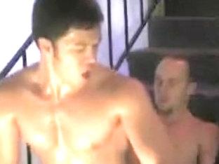 Amazing male in exotic vintage homosexual porn clip