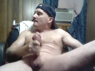 Aroused Homemade Guy Whacking Off