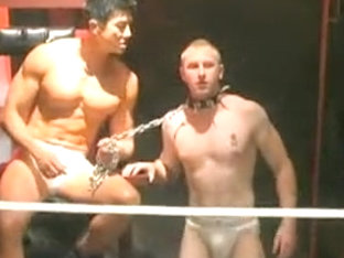 Exotic male in incredible str8, fetish gay porn clip