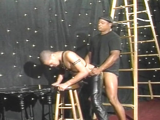 Black Boi Wears Leather For His Master