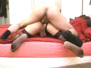 Slut CD fucked bareback by young Arab