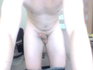 Polish Cute Boy Shows His Round Smooth Ass On Cam