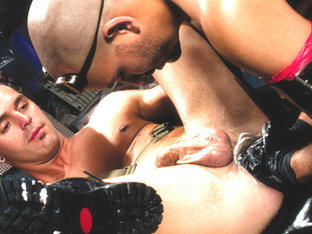 Andre Barclay & Antonio Biaggi in Fistpack 25 - Junkyard Fist Dogs - ClubInfernoDungeon