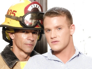 Brandon Wilde & Rodney Steele in Rescue Daddy!  - IconMale