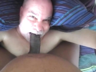 Hooded dom feeds me his bbc.