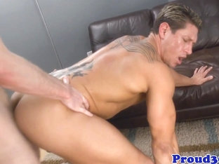 Mature muscle assfucking tight ass