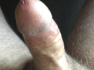 Mature exhibitionist erection - masturbation — orgasm