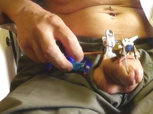 test to invent a piercing machine
