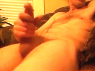 Jacking off and cumming watching porn