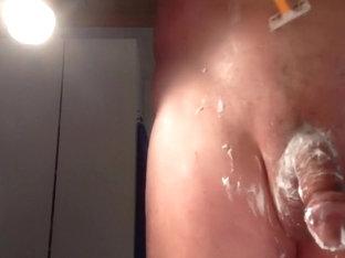 shaving my cock scene 4