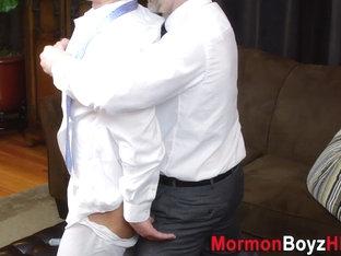 Elders garments removed