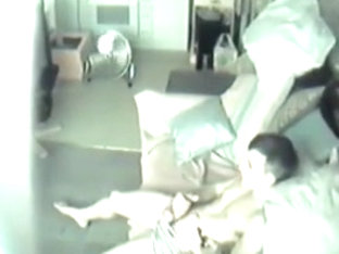flatmate caught masturbating on hidden cam