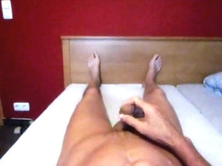 Long wanking session