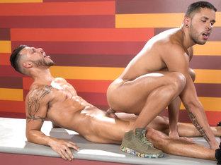 FX Rios & Max Gianni in Hot As Fuck, Scene 04 - RagingStallion