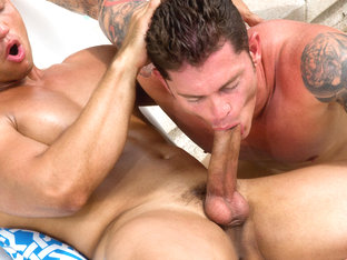 John Magnum & Mitchell Rock in Easy Summer Video