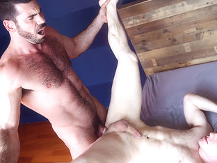 Billy Santoro & Doug Acre in My Mom's New Husband Part 4 - DrillMyHole