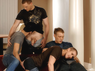 Mason Wyler & Jake Steel & David Stone & Brandon Bangs in Mason Wyler, Jake Steel, Brandon Bangs &.