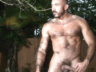 Alessio Romero in Hard Strokes Video