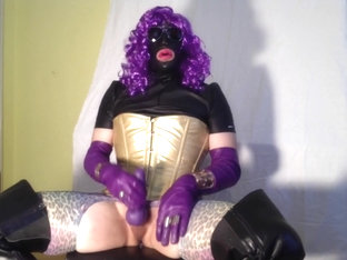 Glover - purple cock lady