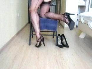 Fucking and Wanking on the Chair