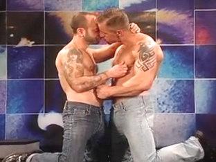 2 HUNKS SUCK-RIM-FUCK Gay Video
