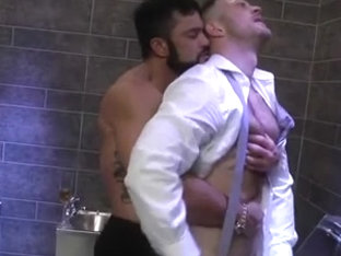 Hardcore shagging in gay big dick porn video