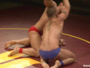 NakedKombat Marcus Titan Ruhl vs Jeremy Stonewall Stevens Muscled Oil Match