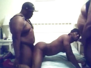 Black Chub Bikers Spit Roast Breed Jock Thug