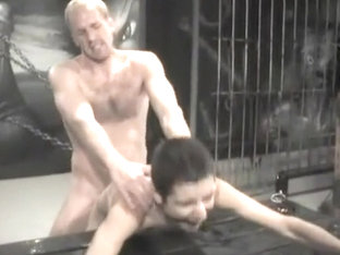 Incredible homemade gay movie with Doggystyle, Bondage scenes