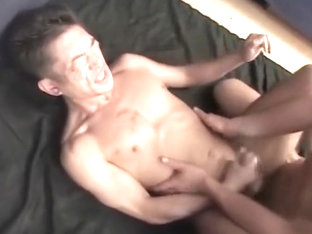 Cute Japanese Muscle Gives it All