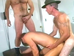 Drill Sergeant Sodomizes Younger Soldier