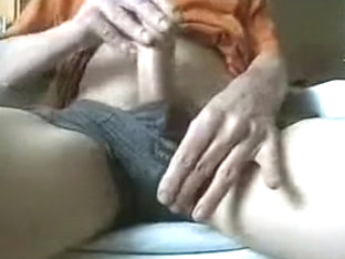 Horny male in exotic handjob homo xxx scene