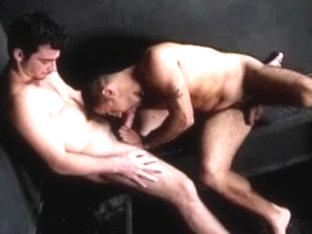 Horny male pornstar in best blowjob, masturbation homosexual porn clip