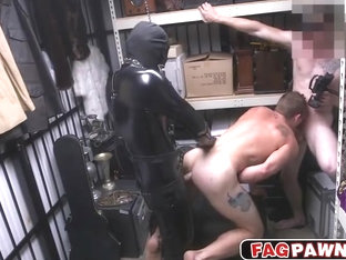 Hunk stud getting her ass fucked