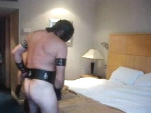 Busty domina fucks a guy in a femdom video