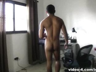 Latino Bad Boy Inocencio Jacking Off  - IoMacho